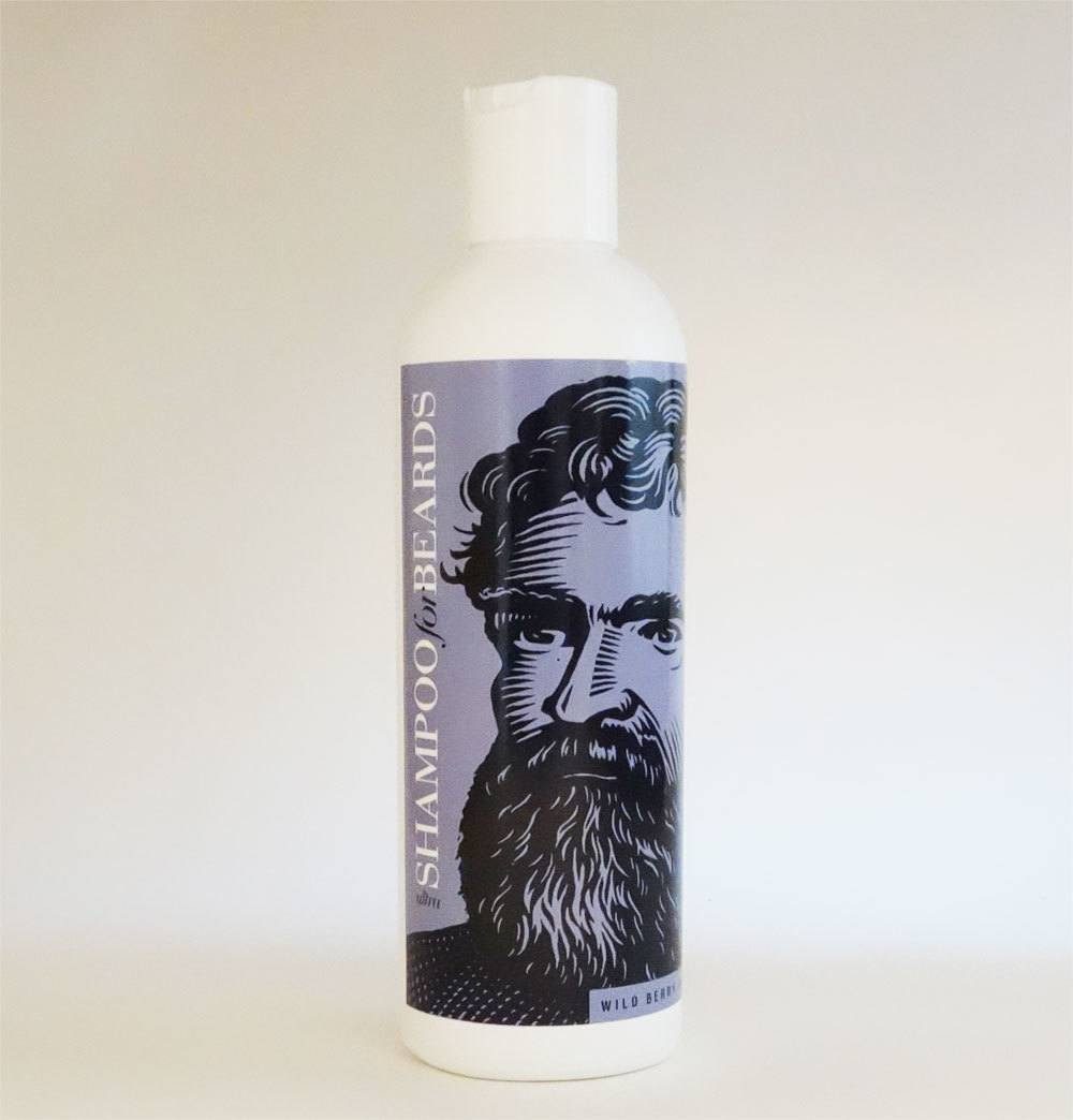 Beardsley Ultra Shampoo for Beards Wild Berry