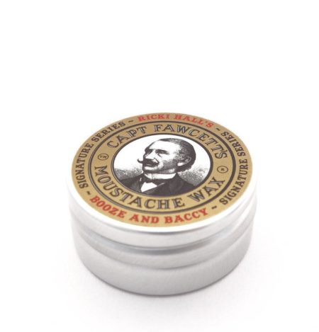 Captain Fawcett - Ricki Hall's Booze & Baccy Moustache Wax