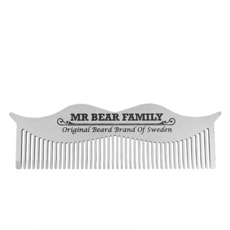 Mr Bear Family Steel Beard Comb