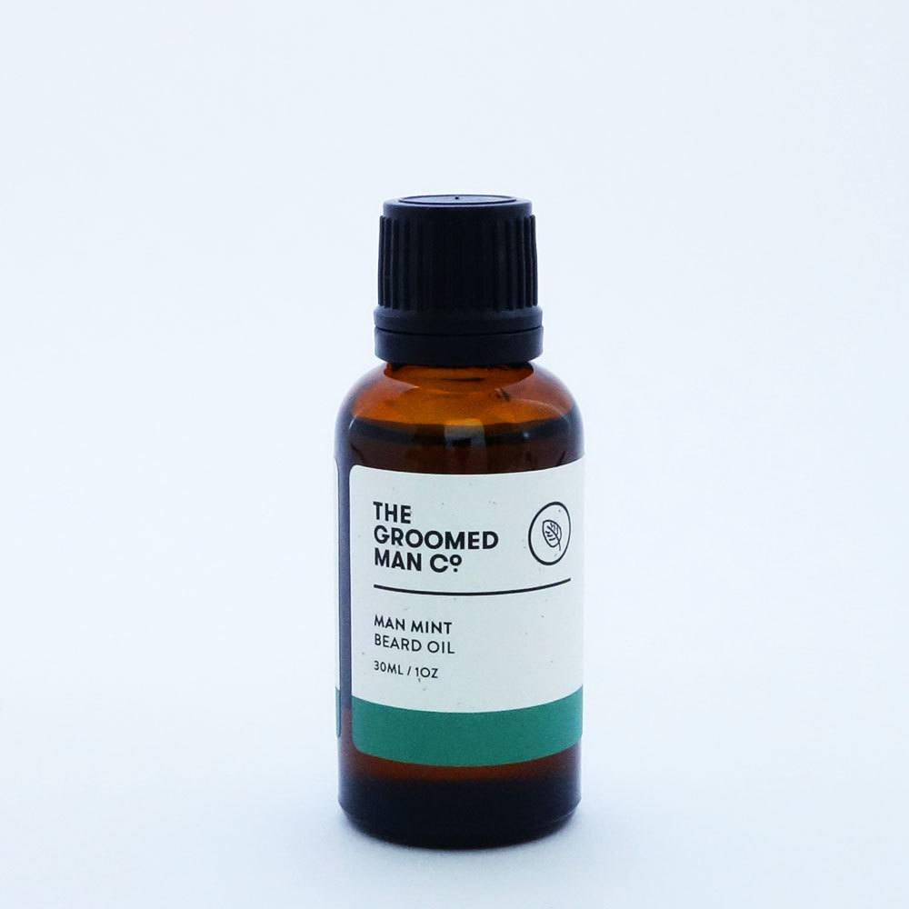 The Groomed Man Co Man Mint Beard Oil