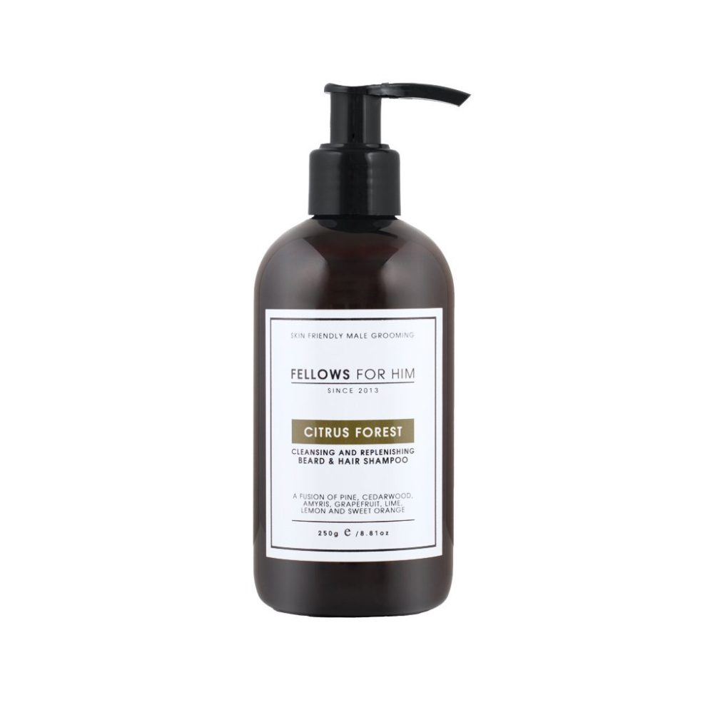Fellows Beard Shampoo Citrus Forest