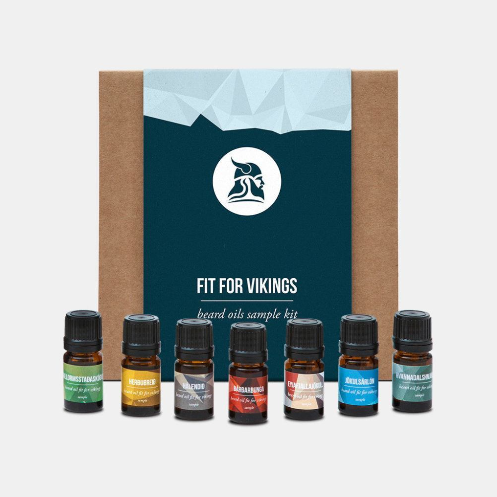 Fit For Vikings Sample Oils Pack