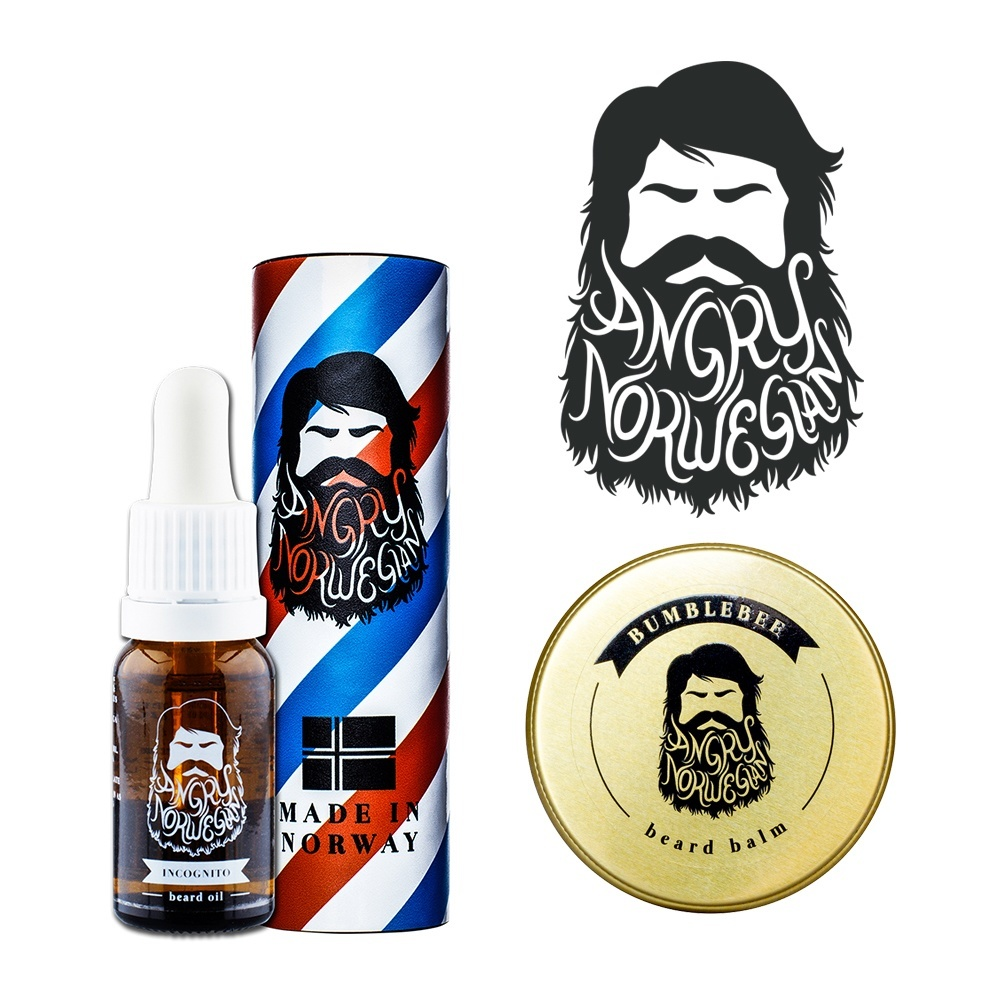 Angry Norwegian Beard Care Bundle