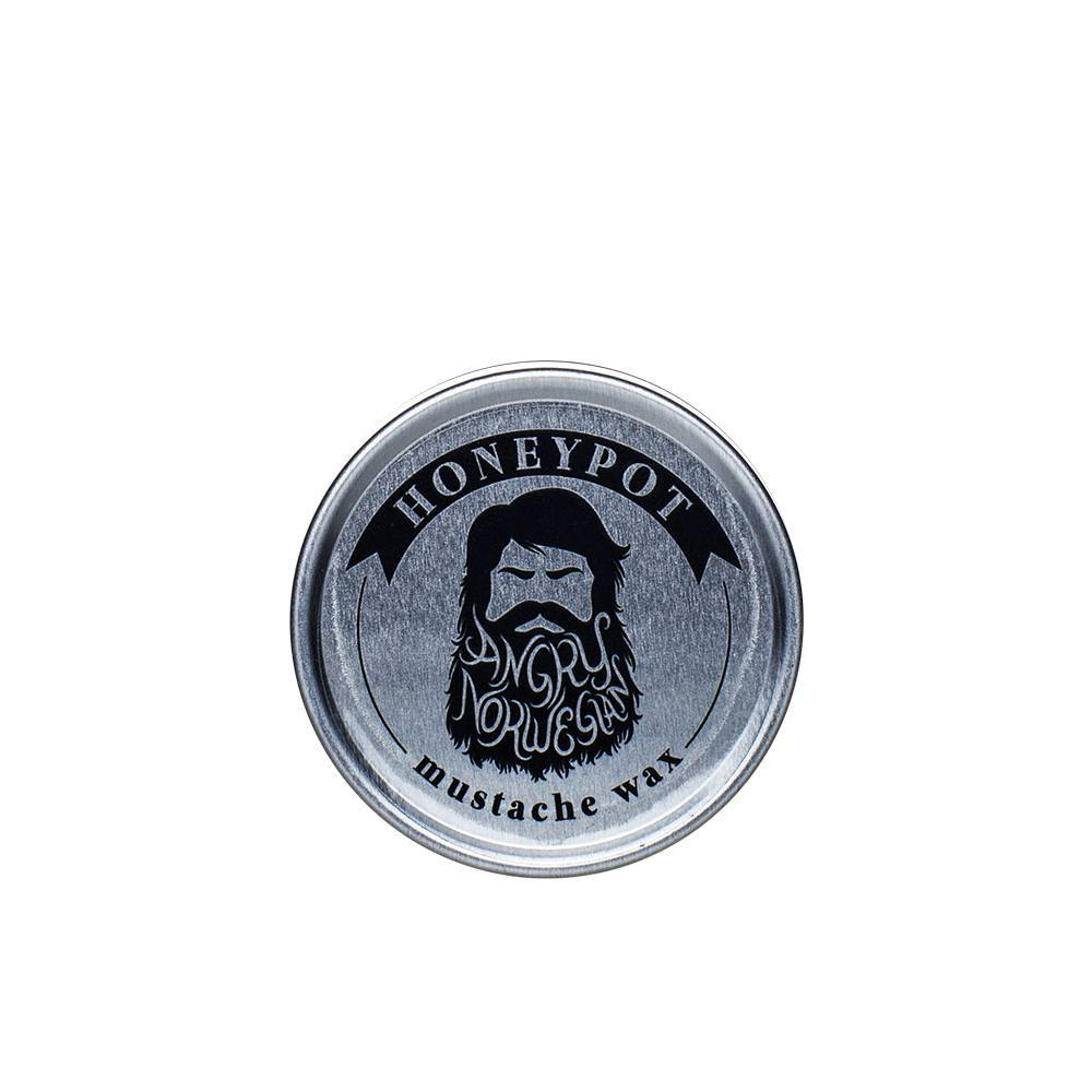 Angry Norwegian Honeypot Moustache Wax