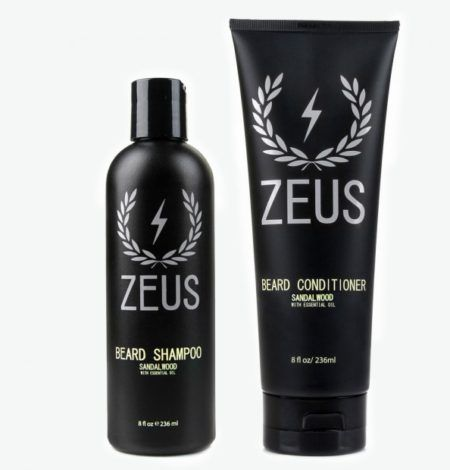 Zeus Beard Shampoo and Conditioner Sandalwood